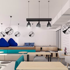 Co working Space Design:  Commercial Spaces by Manali Sutaria