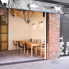 ร้านอาหาร by Piedra Papel Tijera Interiorismo