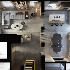 Загородный дом Gogri Golf & Resort: Столовые комнаты в . Автор – Suiten7
