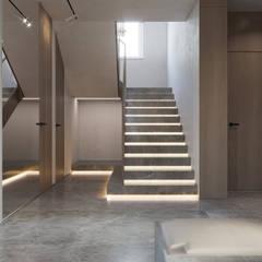 Загородный дом Gogri Golf & Resort: Лестницы в . Автор – Suiten7