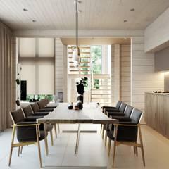 Suiten7:  tarz Yemek Odası