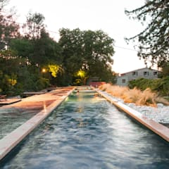 Hồ bơi trong vườn by Endémique Concept - Samuel Fricaud