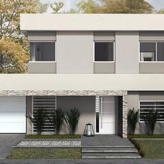 Casa SF: Casas unifamiliares de estilo  por MOD | Arquitectura,Moderno