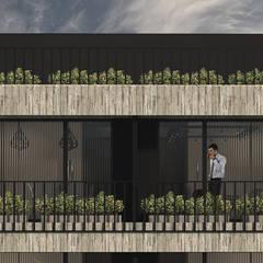 Edifcio A43: Estudios y oficinas de estilo  por MOD | Arquitectura