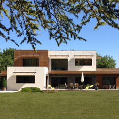 Villa D - Donabay®: Maison individuelle de style  par Endémique Concept - Samuel Fricaud,