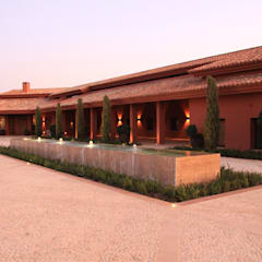 Projekty,  Podwórko zaprojektowane przez Otto Medem Arquitecto vanguardista en Madrid,