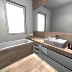 ห้องน้ำ โดย Lemax Design Salon Glazury,