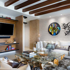 Media room by MG INTERIOR DESIGN,