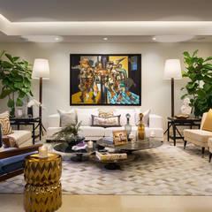 : Salas multimedia de estilo  por MG INTERIOR DESIGN,