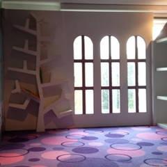 Bosque Verde: Habitaciones para niñas de estilo  por Cb arquitectura y diseño, Moderno