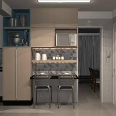 Cozinha por Fabiane Carvalho Arquitetura e Interiores Minimalista MDF