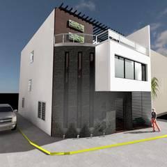 Casa Oficial: Casas ecológicas de estilo  por OMSA ARQUITECTOS