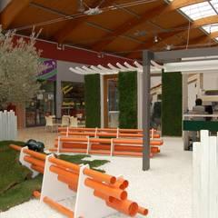 CITTA' AMBIENTE FUTURO: Spazi commerciali in stile  di g4 architettura