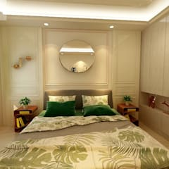 Small bedroom by Matter Of Space Pvt. Ltd.