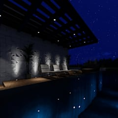 Infinity Pool by Daiana Pasqualon Arquitetura & Lighting