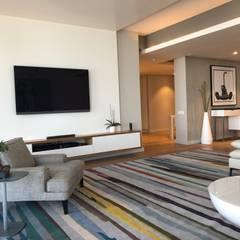 The custom TV unit by Just Interior Design Modern