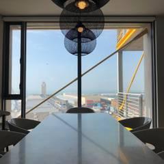 A world-class view 24/7 Modern dining room by Just Interior Design Modern