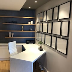 The study / private home office by Just Interior Design Modern