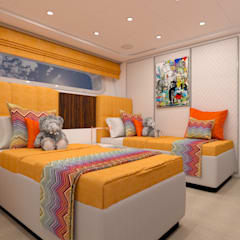 Yachts & jets by Fog - interiors, Modern