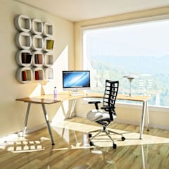 Study/office by 41 Yapı Bodrum , Mediterranean