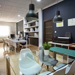 Study/office by ARQUIBIA Arquitectura, Interiorismo y Diseño Bim