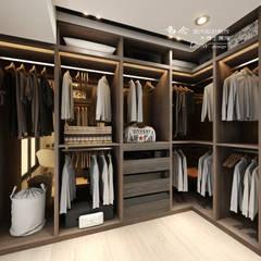 Dressing room by 木博士團隊/動念室內設計制作,