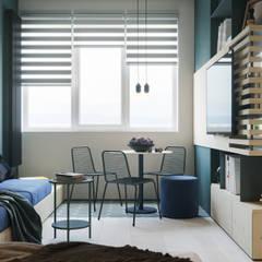 Апартаменты Plywood: Столовые комнаты в . Автор – Suiten7,
