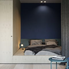 Small bedroom by Suiten7