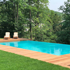 Infinity pool by Kirchner Garten & Teich GmbH, Classic