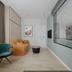 Цвет и пространство: Рабочие кабинеты в . Автор – дизайн-бюро ARTTUNDRA,