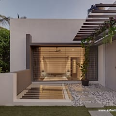 :  Roof by Ashwin Architects In Bangalore
