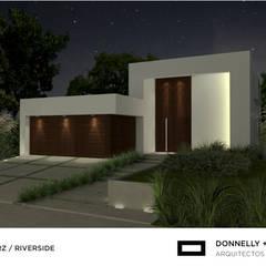 Detached home by Donnelly + Estevez Arquitectos