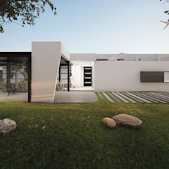Casa en Quillota: Casas de estilo  por Sebastian Ginsberg Arquitecto
