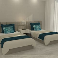 Teen bedroom by Casactiva Interiores, Minimalist