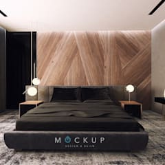 سبرينجز - مدينة الشروق:  غرفة نوم تنفيذ  Mockup studio, حداثي