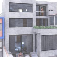 CASA ARBOLEDAS: Casas unifamiliares de estilo  por ARQCUBO ARQUITECTOS