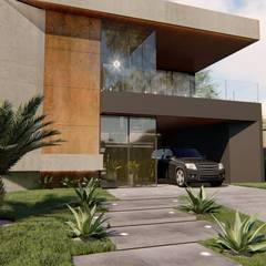 Residência P&V por Arquorum Arquitetura Moderno Concreto