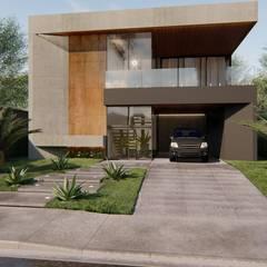 Residência P&V por Arquorum Arquitetura Moderno Ferro/Aço