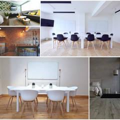 INTERIORES : Estudios y oficinas de estilo  por COCO MX