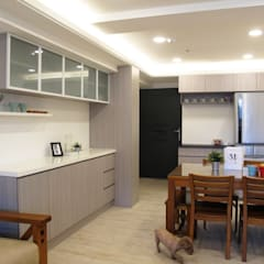 全室案例-新北市中和區:  餐廳 by ISQ 質の木系統家具