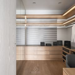 Dressing room by 極簡室內設計 Simple Design Studio