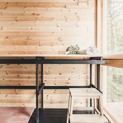 Sauna by politaire, Scandinavian Wood Wood effect