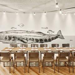 Pico's Grill: Locales gastronómicos de estilo  de Piedra Papel Tijera Interiorismo, Moderno