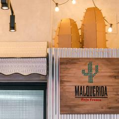 Restaurantes de estilo  por Piedra Papel Tijera Interiorismo, Rústico