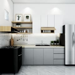 Kitchen set : Unit dapur oleh viku,