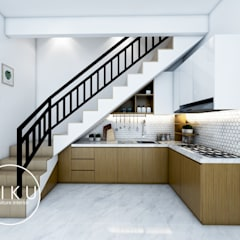 Kitchen set Dapur Minimalis Oleh viku Minimalis Kayu Wood effect