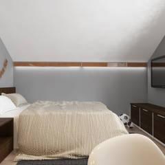 Дизайн интерьера загородного дома ( г.Истра) : Спальни для мальчиков в . Автор – Лана Веригина , Модерн