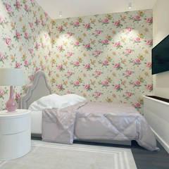 Дизайн интерьера загородного дома ( г.Истра) : Спальни для девочек в . Автор – Лана Веригина