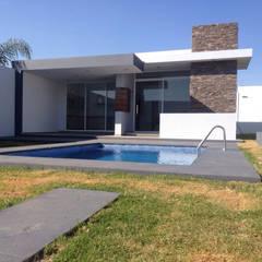 Teras oleh EBA Architecture & Desing , Modern
