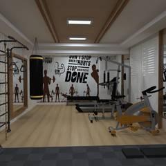 Ruang Fitness oleh Asya Yapı İçmimarlık